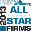 Richey May was recognized as a 2013 All Star Firm by INSIDE Public Accounting.
