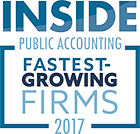 Richey May was recognized as a 2017 top ten Fastest-Growing Firm among all firms of similar size by INSIDE Public Accounting.