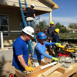 Richey May Cares Giveback Day - Habitat for Humanity