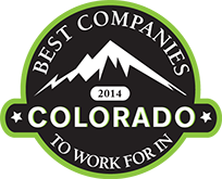 Award-2014 best companies to work for colorado