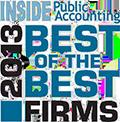Award-2013 Best of the Best Firms