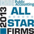Award-2013 all star firms