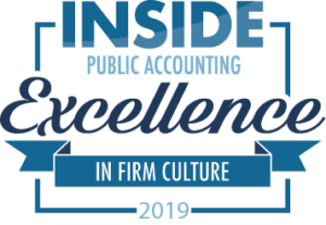 Award- 2019 excellence in firm culture